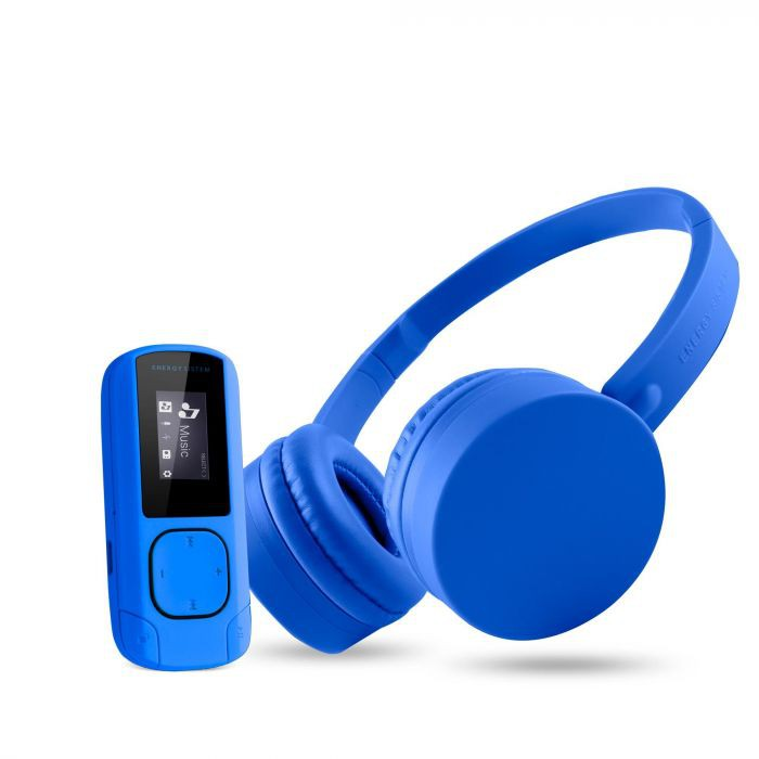 AURICULAR ENERGY HEARPHONES + MP3 MUSIC PACK BLUETOOTH 8GB RADIO/FM 443857