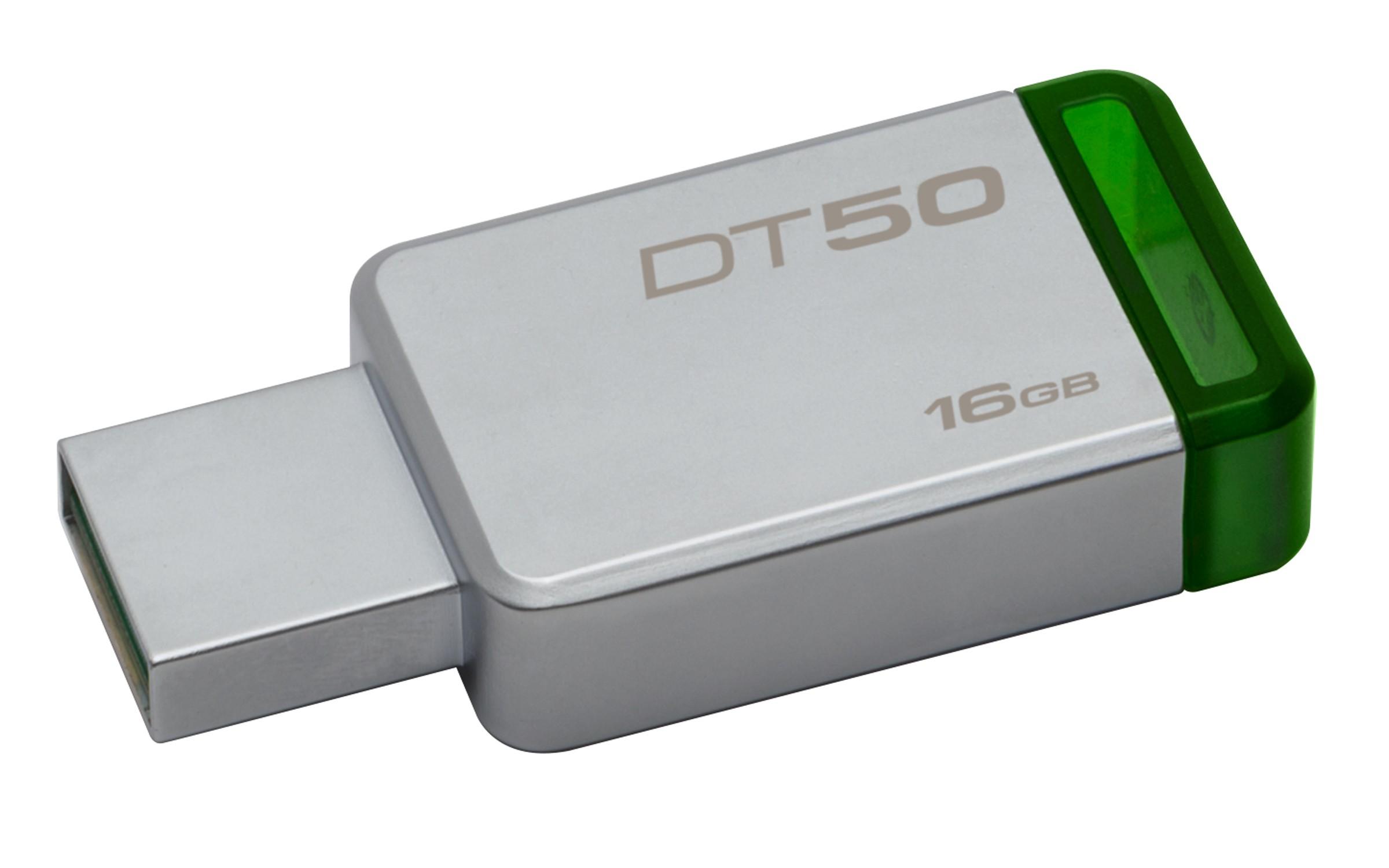HD PORTATIL USB3.1  16GB KINGSTON DATA TRAVELER 50 DT50/16GB