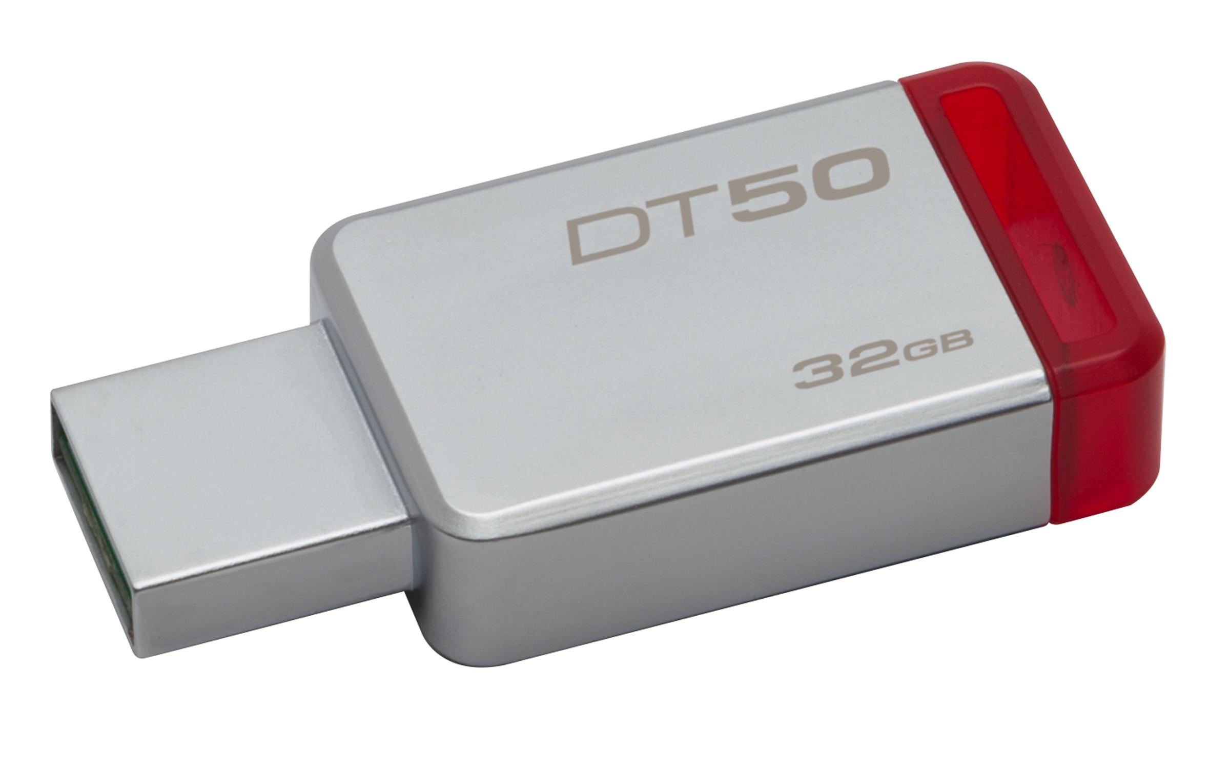 HD PORTATIL USB3.1  32GB KINGSTON DATA TRAVELER 50 DT50/32GB