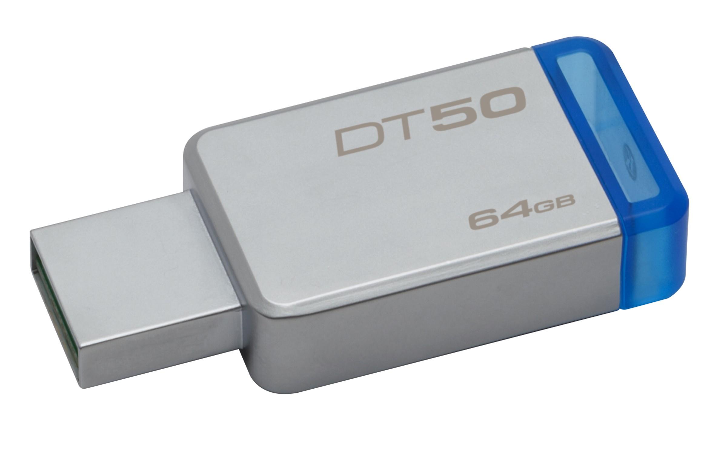 HD PORTATIL USB3.1  64GB KINGSTON DATA TRAVELER 50 DT50/64GB