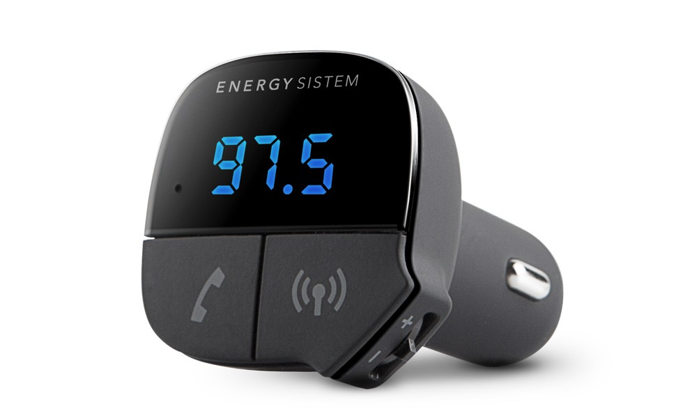 TRANSMISOR ENERGY  FM Y BLUETOOTH MUSIC MANOS LIBRES 424313