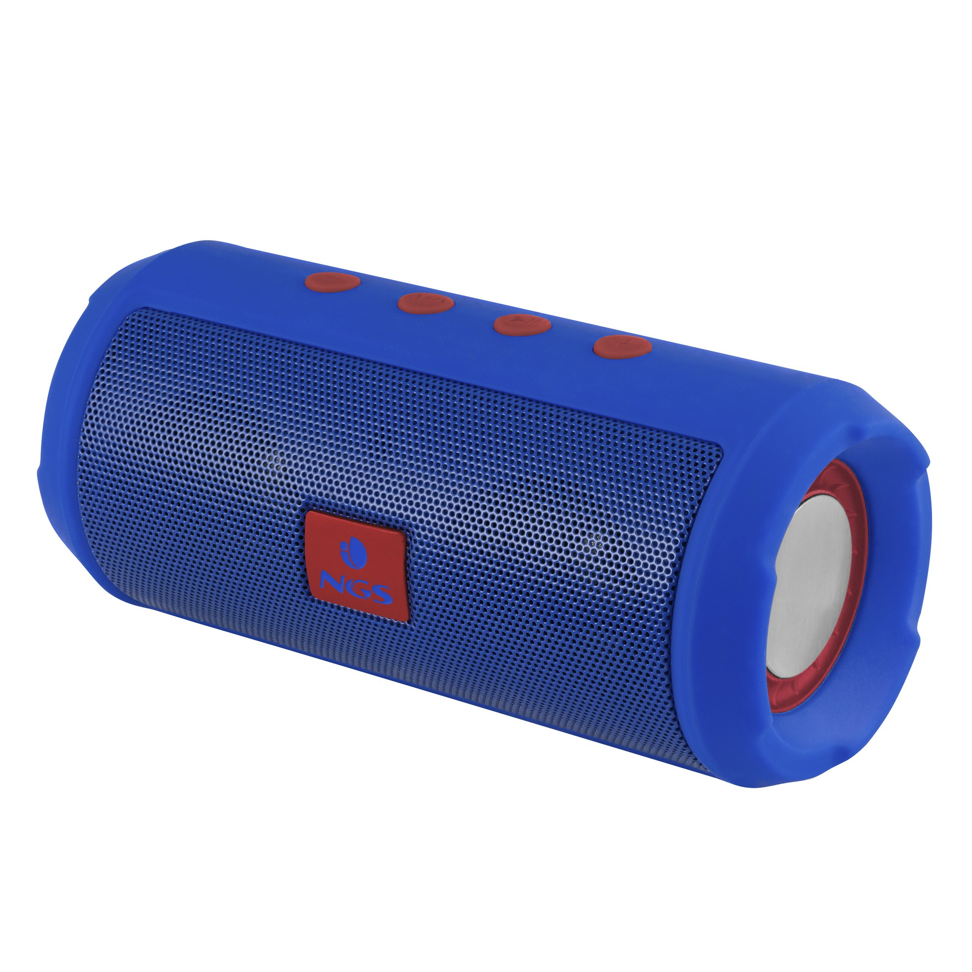 ALTAVOCES  NGS  ROLLER TUMBLER BLUE PORTATIL BLUETOOTH 6W MICRO-SD RADIO FM USB